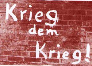 Gegen Aufrüstung, Krieg und Konkurrenz – internationaler Klassenkampf! @ Stuttgart, Falkenbüro