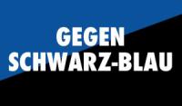 Kampf gegen die schwarz-blaue Regierung in Österreich