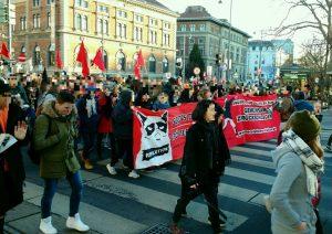 Schwarz-blaue Regierung in Österreich – Widerstand formiert sich! @ Berlin, Mehringhof, Versammlungsraum