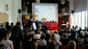 Warnstreik TV Stud @ Berlin, Bebelplatz