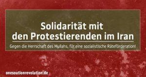 Kundgebung: Solidarität mit den Protestierenden im Iran @ Dresden, Prager Straße, An den Treppen