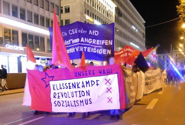 Nach der Bayern-Wahl: Organisierung und Widerstand auf die Straße bringen!