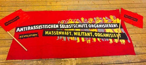 Heraus zum roten 1. Mai in Dresden! Keinen Fußbreit den FaschistInnen!