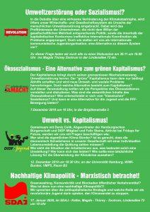 Ökosozialismus - eine Alternative zum grünen Kapitalismus? @ Hamburg, B 5