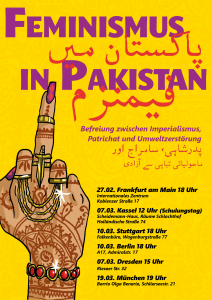 Feminismus in Pakistan @ Frankfurt/Main, Internationalistisches Zentrum