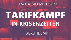 Tarifkampf in Krisenzeiten @ Online-Veranstaltung
