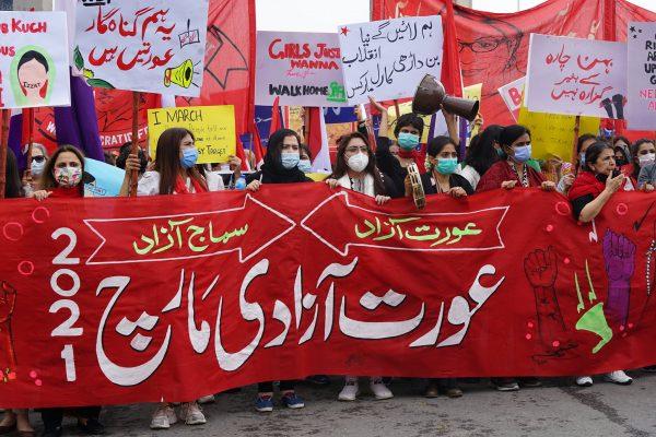 Wir werden nie wieder schweigen! Solidarität mit Pakistans Frauenbewegung!