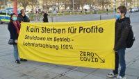 Solidarischer Lockdown jetzt! Gemeinsam gegen Pandemie und Krise