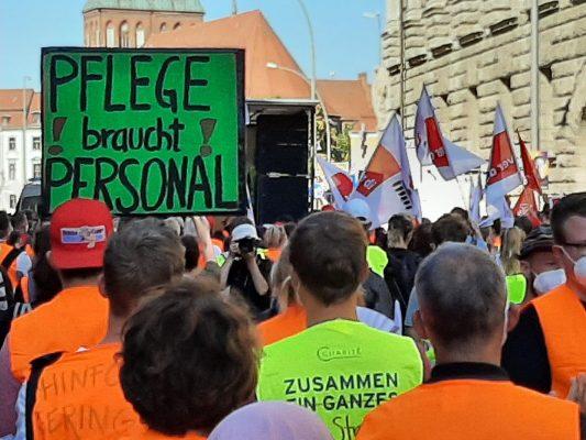 Berliner Krankenhausstreiks: Schlichtung droht